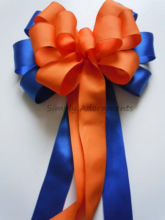 Blue Orange Party Decoration Royal Blue By Simplyadornmentsss