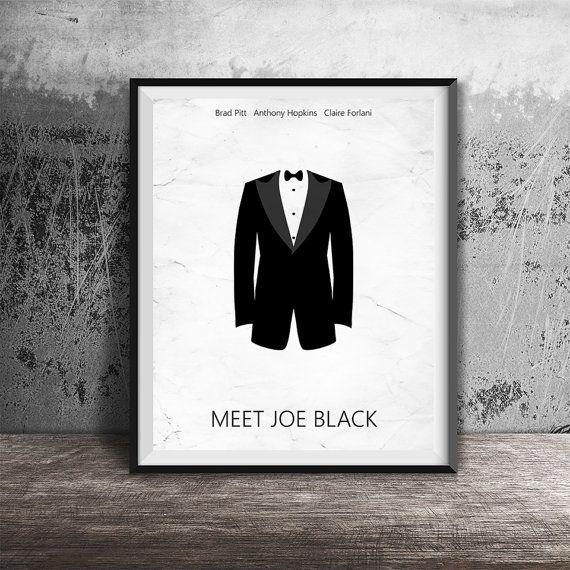 Movie Poster Print,Meet Joe Black Movie Poster Printable