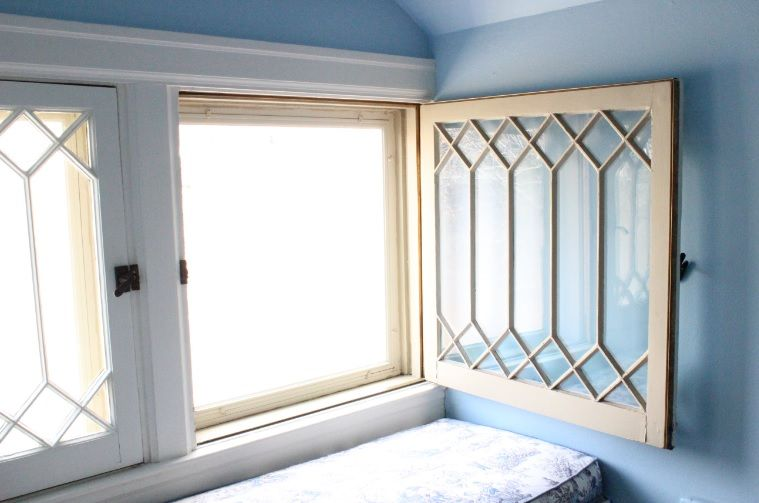 In Swing Casin Swing Casement Window Restoration With Exterior Storm Window Fitted With Interlocking Metal W Window Restoration Casement Windows Window Fitting
