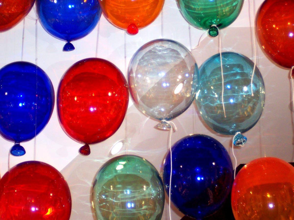 Globos de cristal. Venecia, Italia