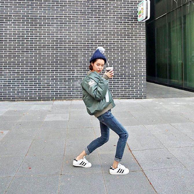 韓劇閔夏莉她很漂亮韓國熱潮ma1 jacket blouson軍褸街拍紅人hokk fabrica香港線上雜誌
