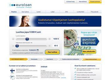 Tarvitsetko rahaa yllättäviin aikoihin ja yllättäviin menoihin? Euroloan tarjoaa 5.000€ Luottotilin, jolta voit nostaa rahaa aina 24/7/365. Luottotilin hakeminen ja limiitin myöntäminen ovat sinulle ilmaisia. Maksat vain käytöstä! Hae heti!