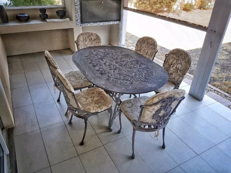 Cast Aluminium Patio Furniture South Africa Dining Room Woman