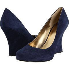 Wedge wedding shoes, Navy wedding shoes