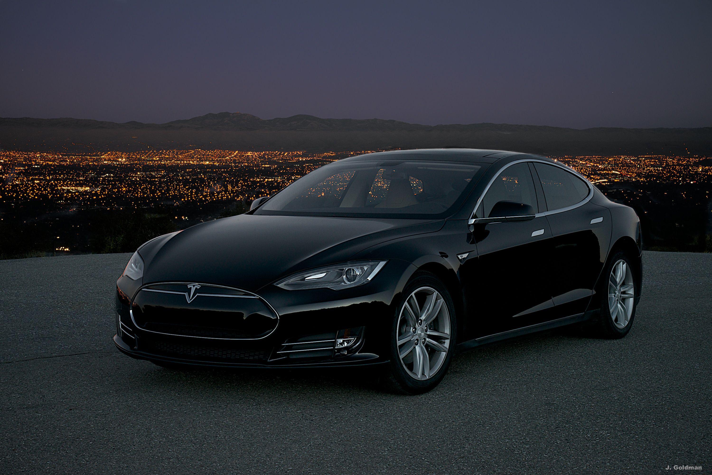 Tesla Saratoga Night Tesla Model S Black Tesla Model S Tesla