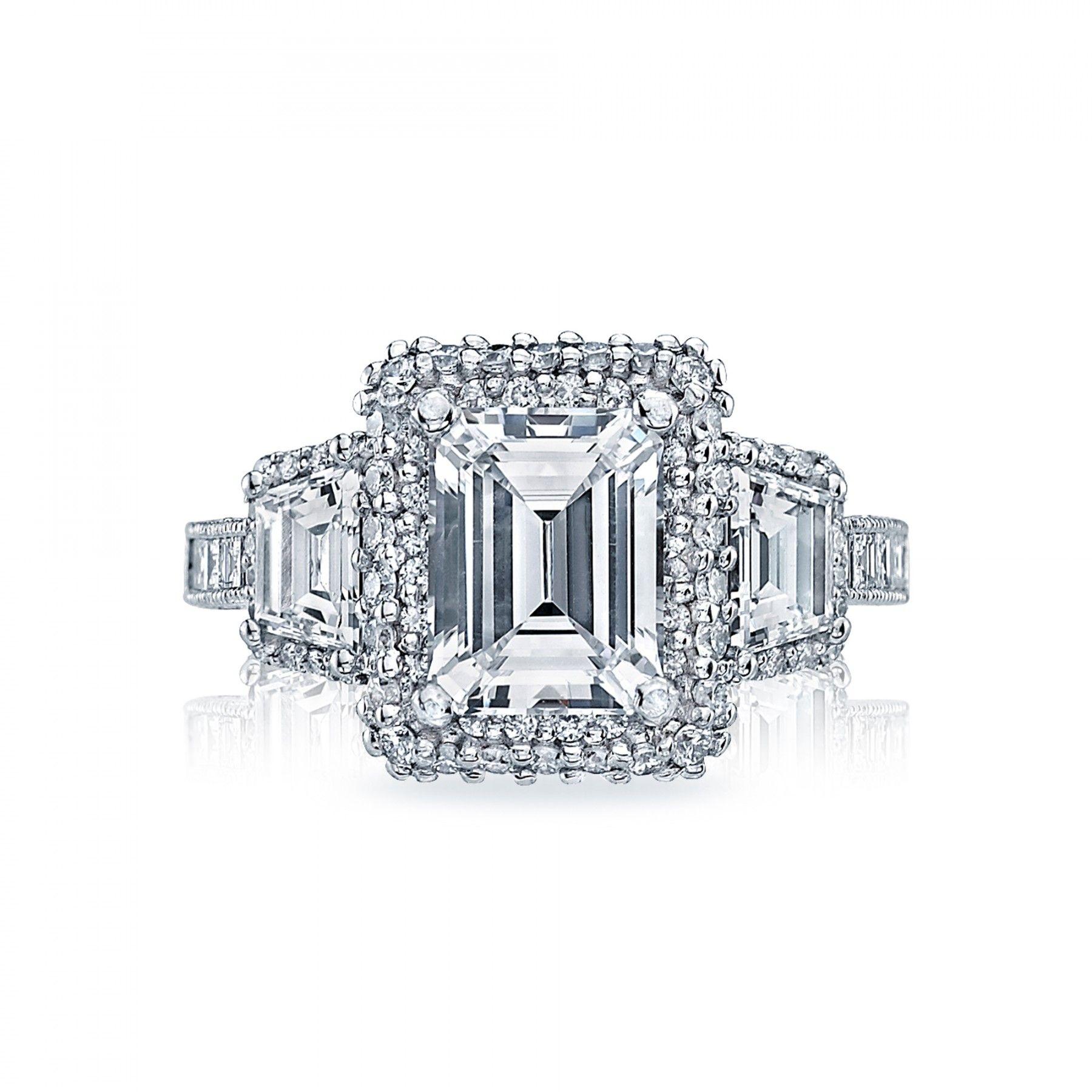 Style# HT2527EC85X65 - Blooming Beauties - Tacori.com | $17,450.00 in Platinum