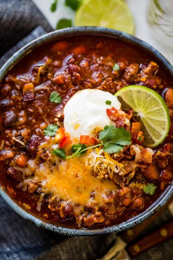 Award Winning Instant Pot Chili Recipe #chilirecipe