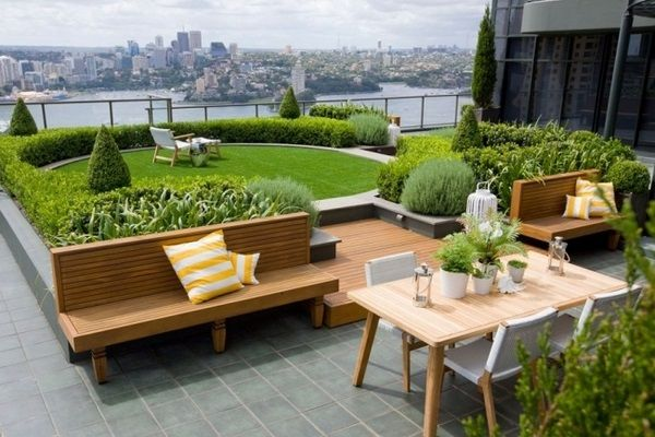 Roof-terrace-garden-design DIY Board Pinterest Garden, Garden