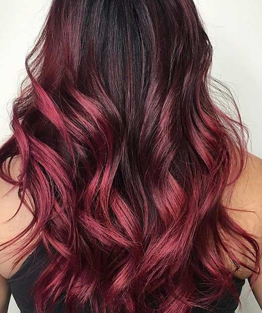31 best red ombre hair color ideas a hair brained idea pinterest haarfarbe ideen bunte. Black Bedroom Furniture Sets. Home Design Ideas