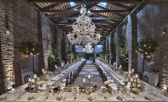 A Contemporary And Chic E In Venice Here George Clooney Amal Alamuddin Hosted Their Wedding Party