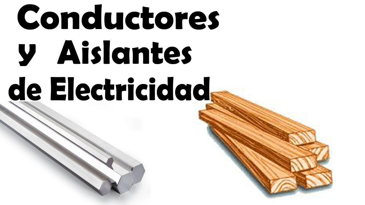 Materiales aislantes de electricidad