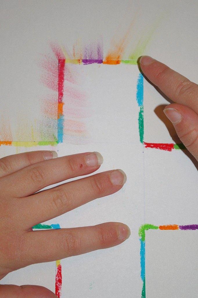 A Beautiful Cross Art Project Sunday School Craft Lesson Ideas