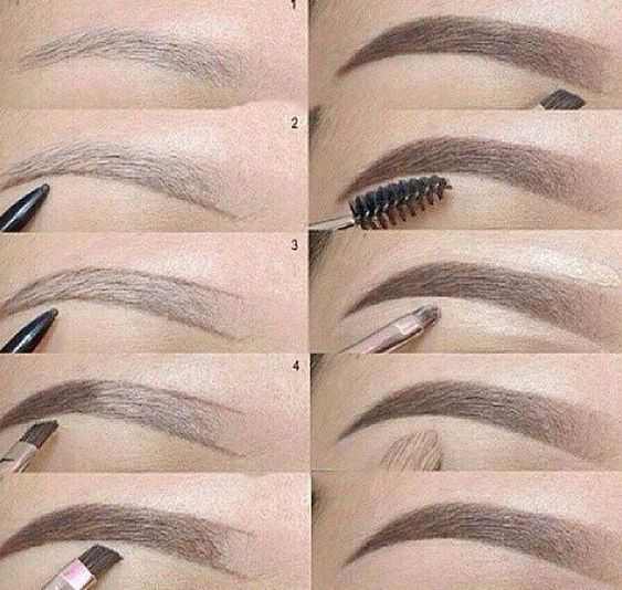 THE TECHNIQUE OF PAINTING EYEBROWS IS SOMETHING EVERY GIRL SHOULD KNOW - Page 8 of 40 -  #eve... -