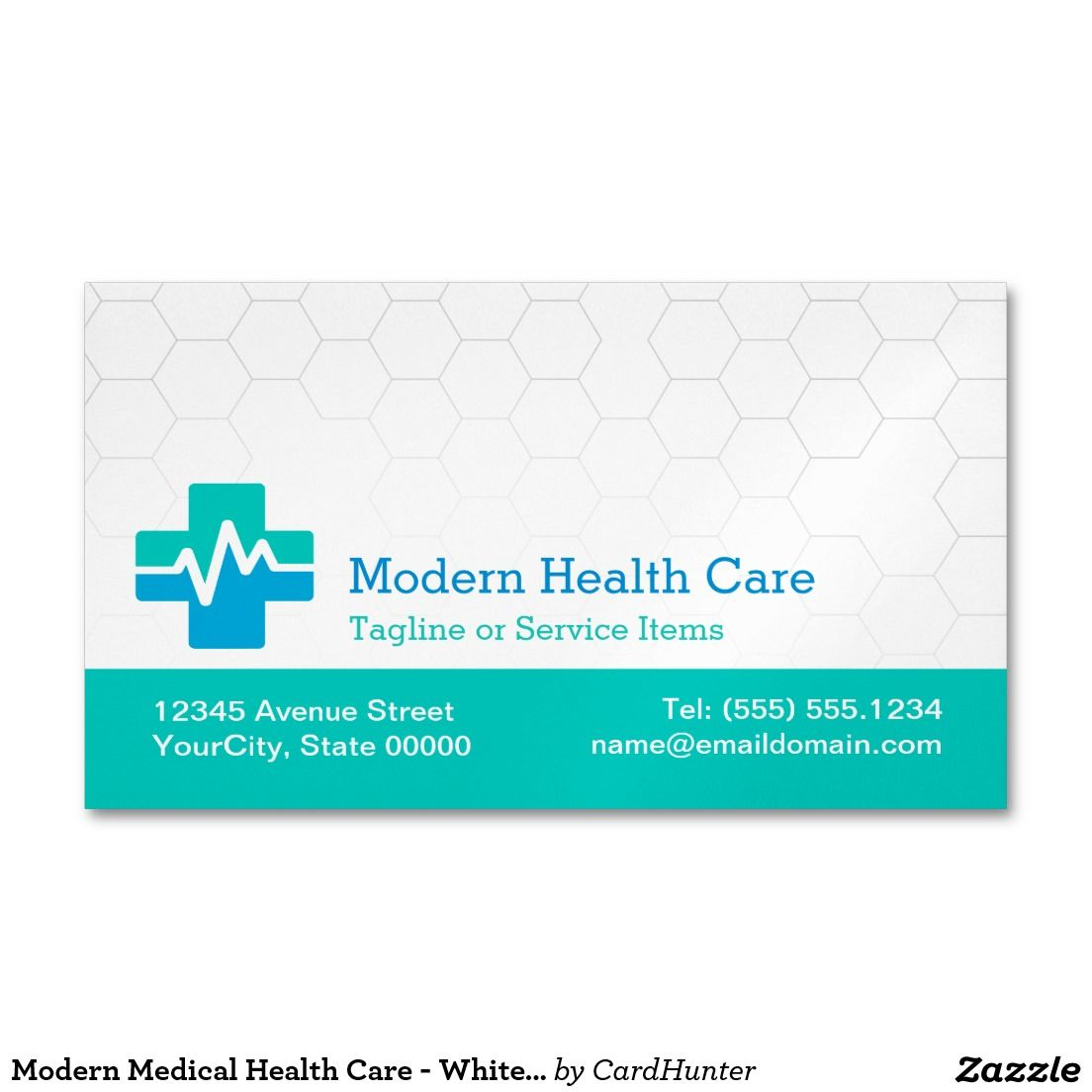 Blue Corporate Stationary Pack By Betty Design: Modern Medical Health Care