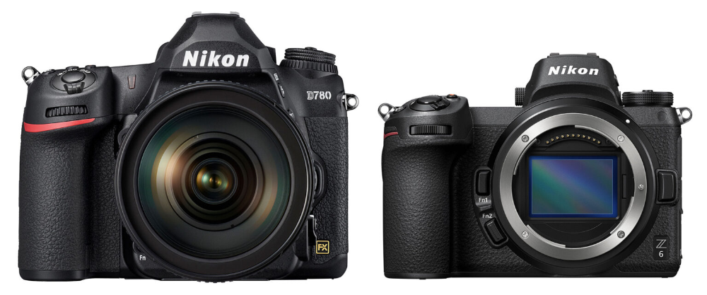 It S Not Unreasonable To Call The D780 A Dslr Z6 Or The Z6 A Mirrorless D780 Below I Ll Compare The Nikon D780 Nikon Mirrorless Camera Photography Camera
