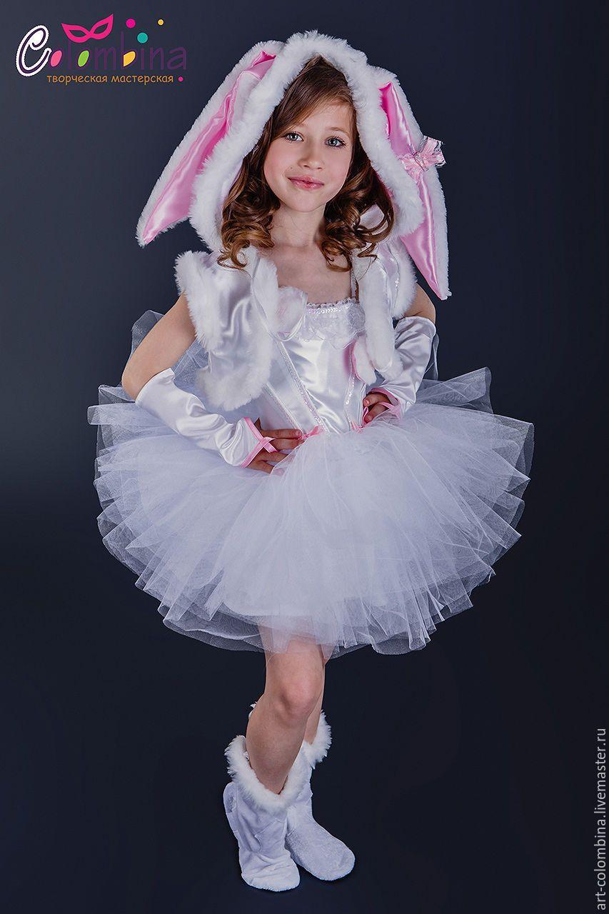 Детские карнавальные костюмы ручной работы. Костюм зайчика ... - photo#46