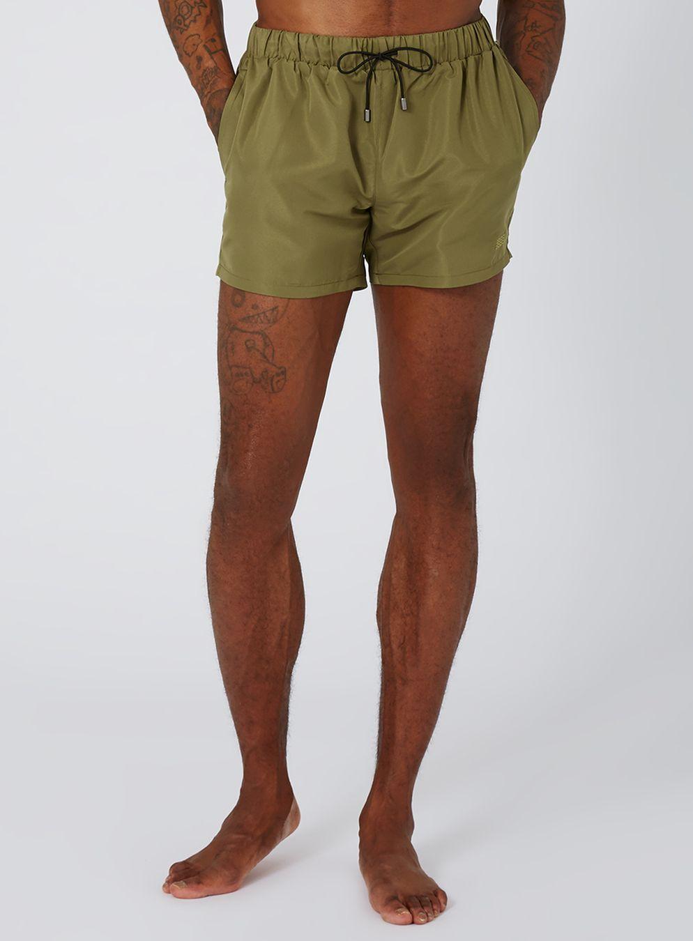 81cf398185 Khaki Swim Shorts   MAN SWIMSUITS   Swim shorts, Mens swim shorts ...