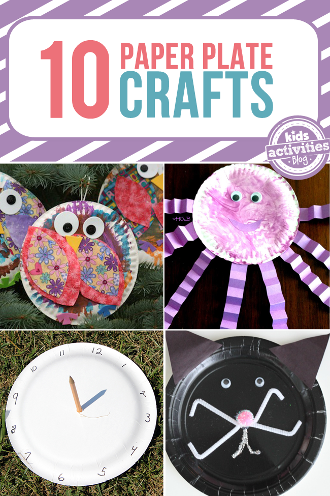 10 Creative Paper Plate Crafts - Kids Activities Blog & 10 Creative Paper Plate Crafts | Paper plate crafts Kid ...