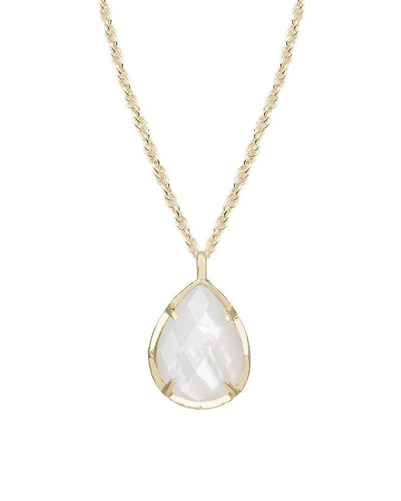 Kendra scott kiri necklace in ivory pearl clothes pinterest