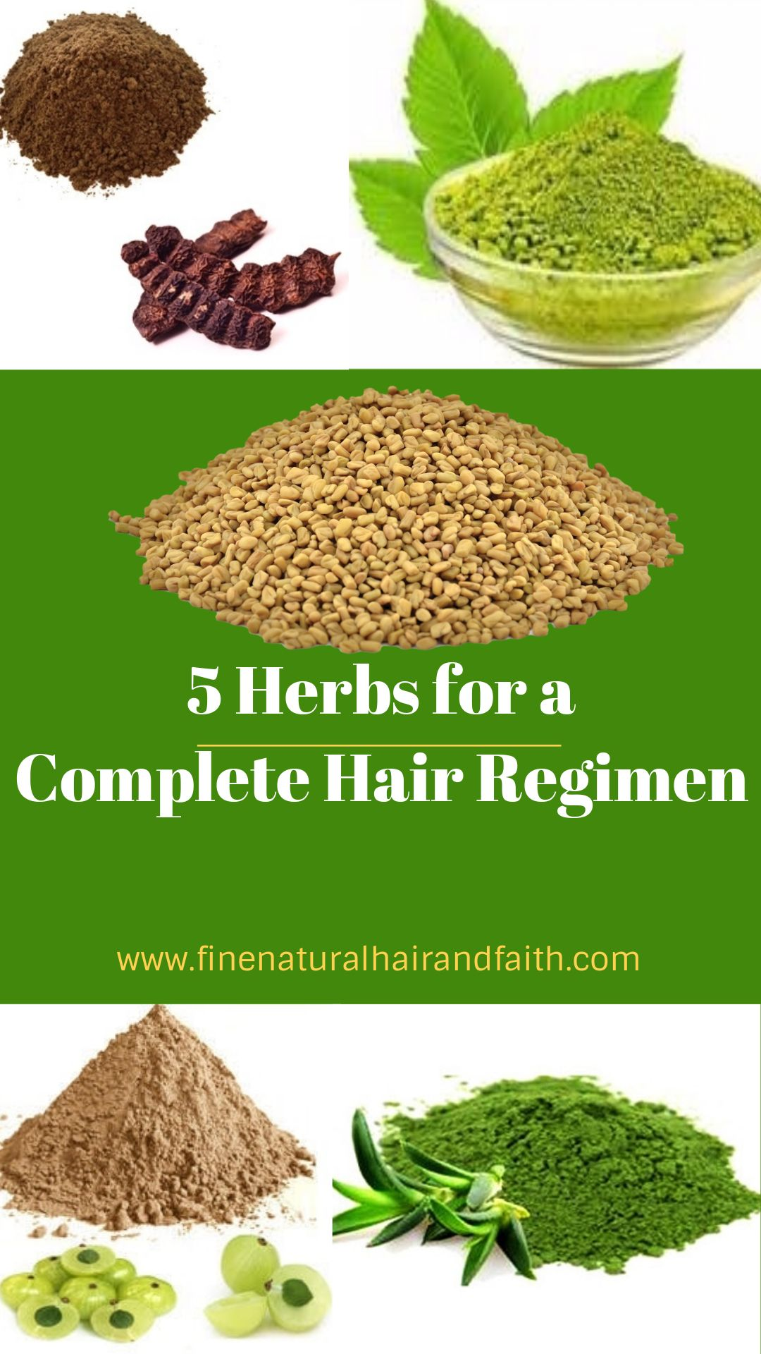 HERBS FOR HAIR CARE: Top 5 Herbs for a Complete Regimen | FINE NATURAL HAIR & FAITH: Growth, Styling, Herbal Hair Care #naturalhaircareproducts