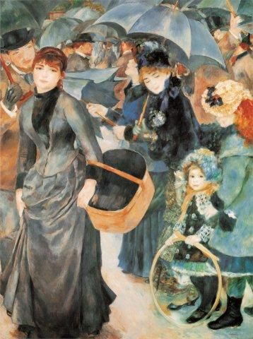 Les Parapluies Pierre Auguste Renoir Puzzles Pieces 1500
