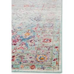 Photo of Benuta trends carpet visconti multicolor / blue 250×350 cm – vintage carpet in used look