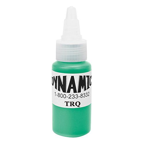 Dynamic Tattoo Ink Color Turquoise 1oz *** Click on the image for additional details. Note:It is Affiliate Link to Amazon.