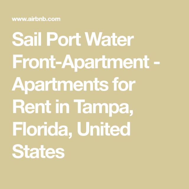 Sail Port Water Front-Apartment