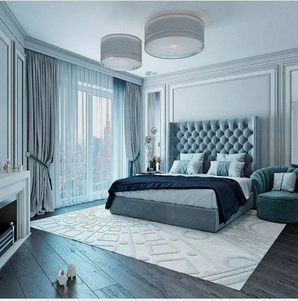 38 Incredible Contemporary Master Bedroom Design Ideas Simple Bedroom Design Luxury Bedroom Master Blue Master Bedroom