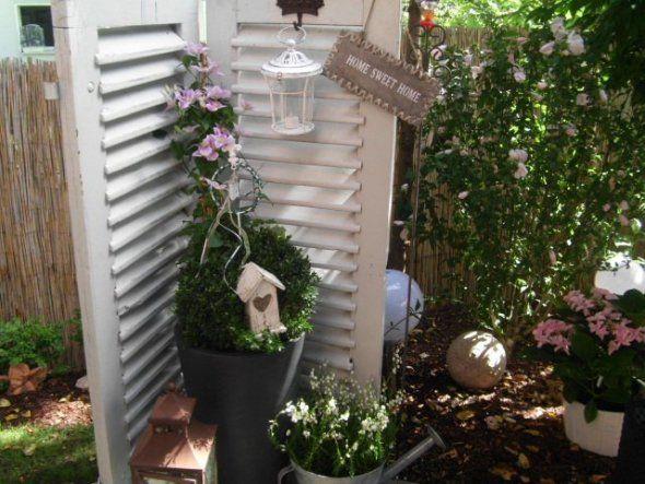 ღ Garden Deco Shutter More Source By Annemarieprasch