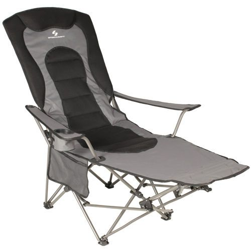 Sportcraft Padded Kickback Lounger Camping Chairs Outdoor Chairs Camping Chair