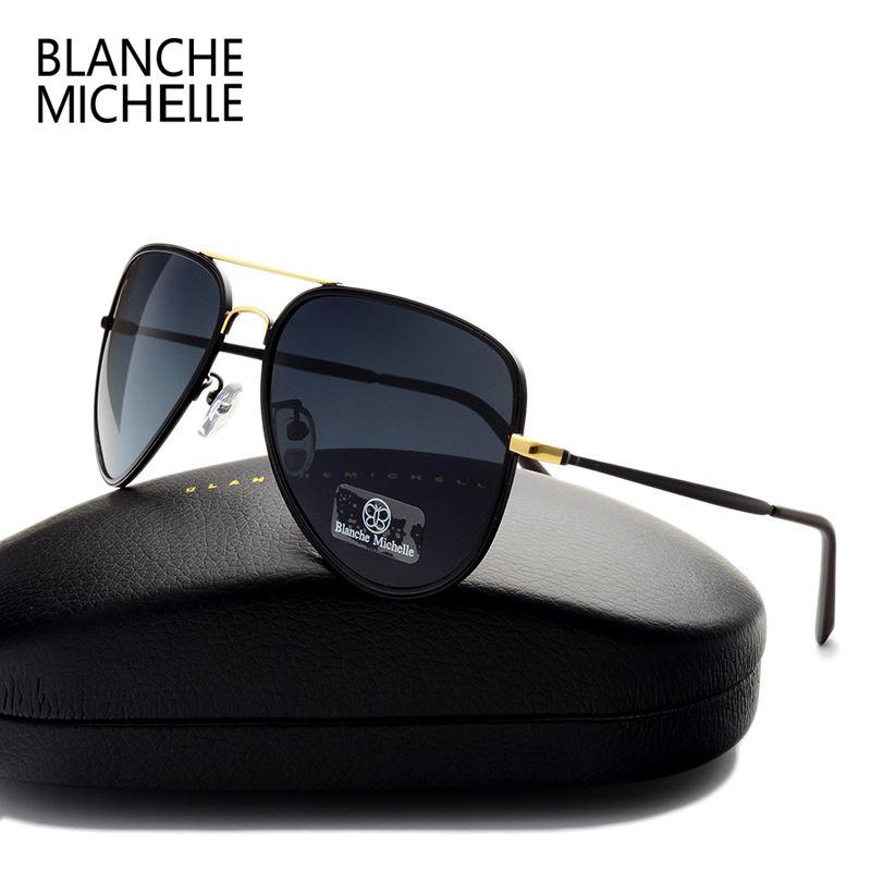 High Quality Classic Pilot Polarized Sunglasses Men Women Brand Designer UV400 Outdoor Driver Sunglass Fashion Sun Glasses Cool a4a4rW