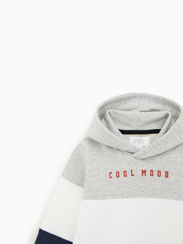 Cool Mind Sweatshirt Jogging Boy 5 14 Yrs Kids Zara United States Zara Ropa Polera