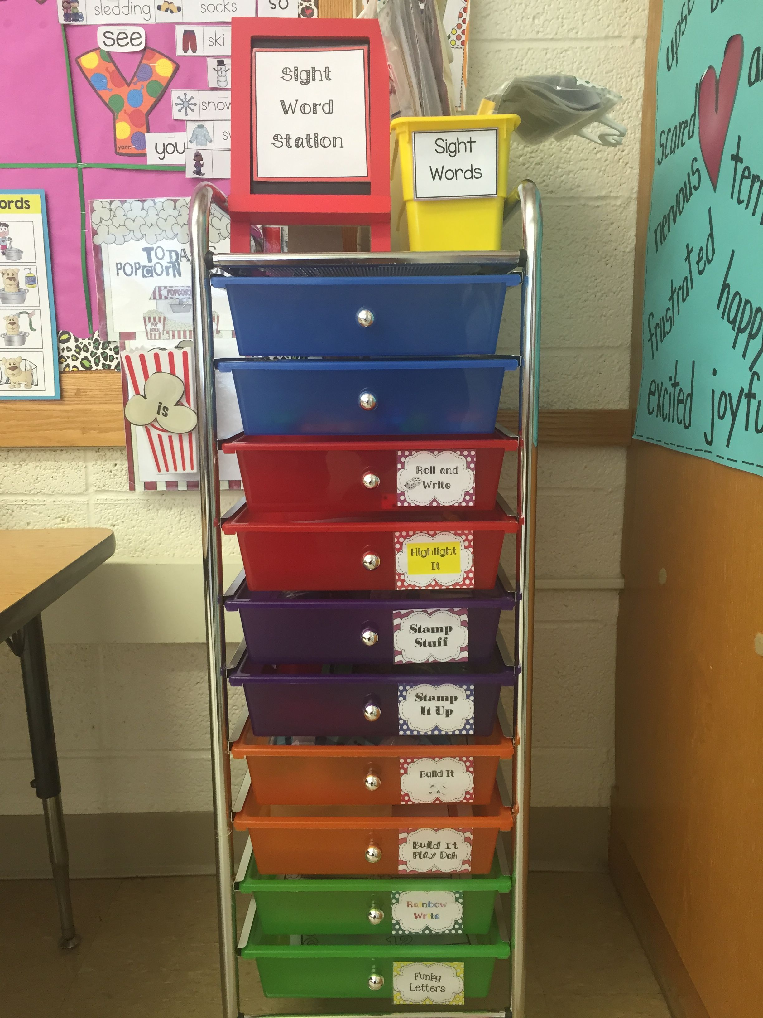 Sight Words Sight Words Station Let S Get Organized