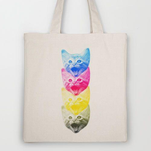 Fresh From The Dairy: Artist-Designed Tote Bags - Design Milk | Design Milk