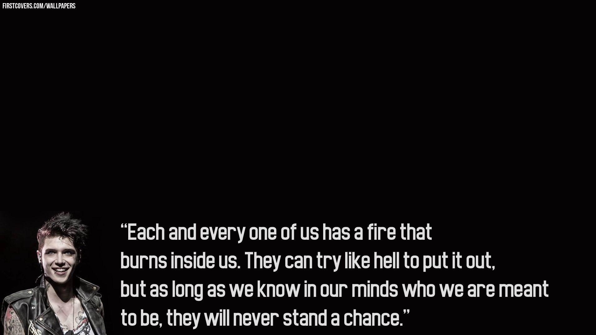Black Veil Brides Quotes Wallpaper For Iphone Album On Quotesvil