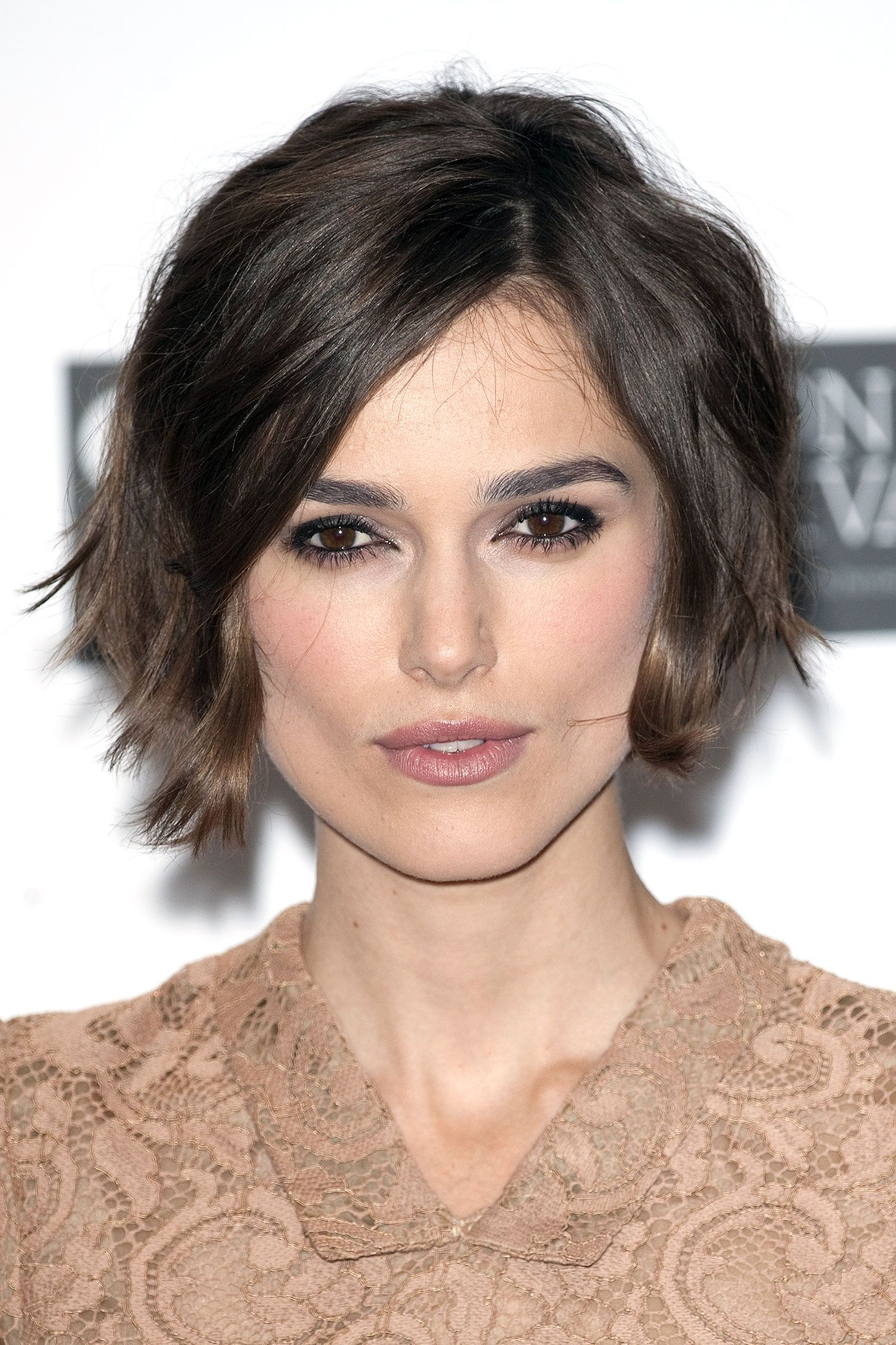 The best celebrity bob u lob haircuts keira knightley bobs and lob