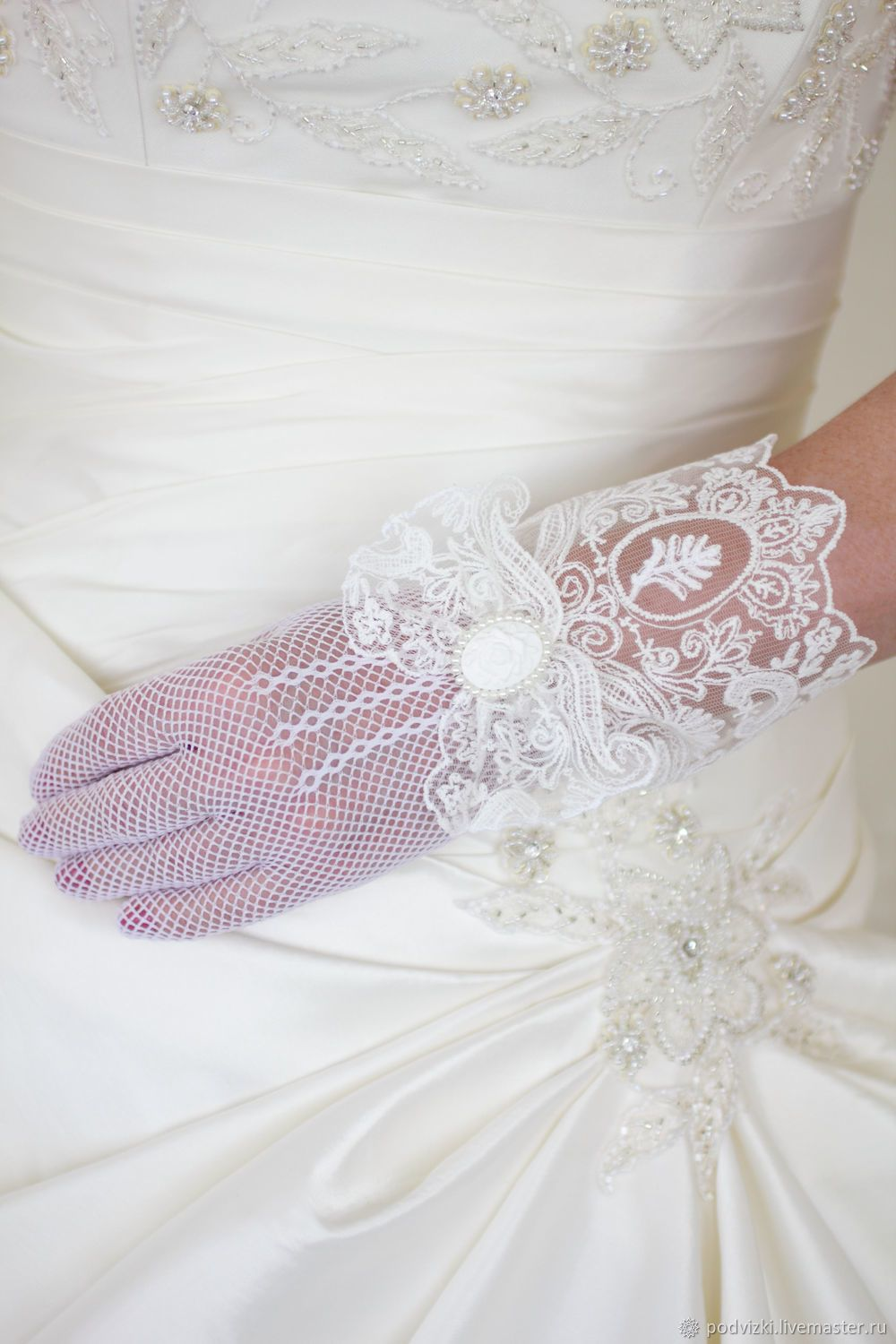 Photo of Handmade clothes and accessories. Wedding …