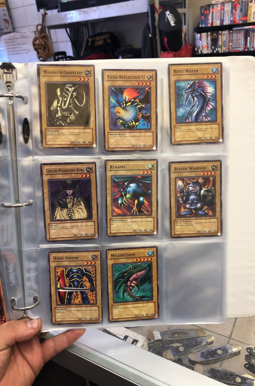 Set of 8 all in mint conditions price is firm cards will