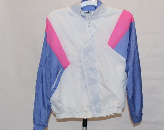 75f072308 True Vintage '80s PUMA Old School Hip Hop Nylon Windbreaker Windsuit ...