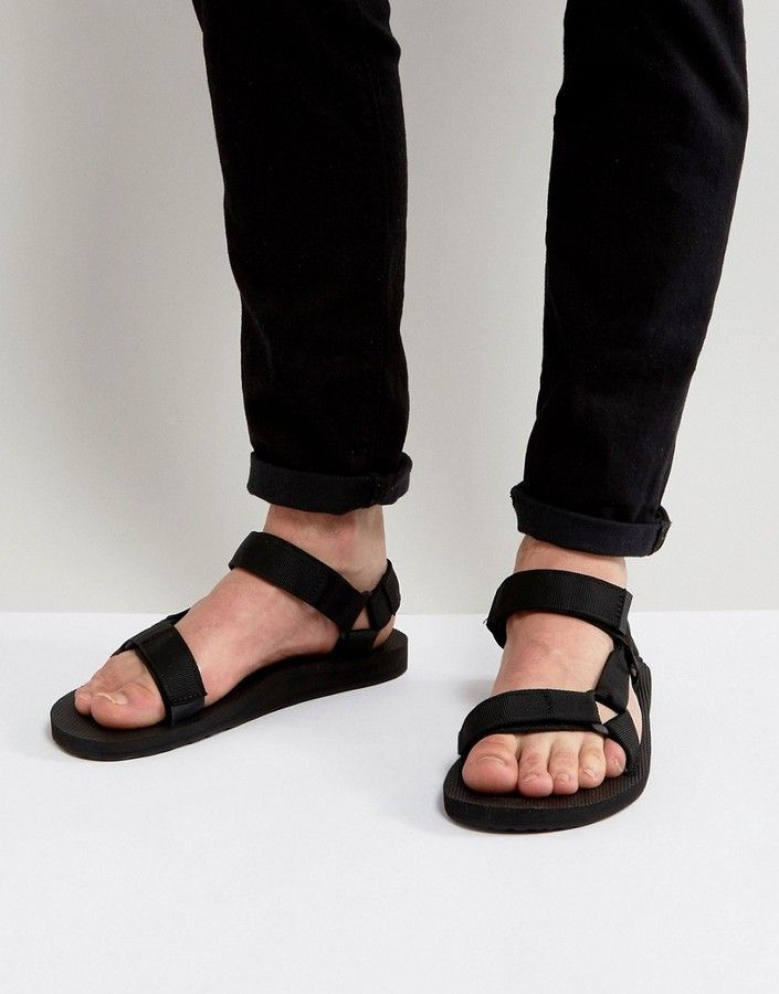 1e8a6616e8e71b Teva Original Universal urban tech sandals in black