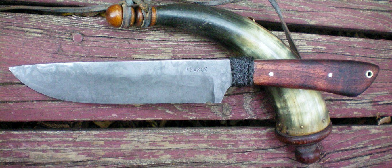 Mesquite Frontier Knife by Logan-Pearce on DeviantArt