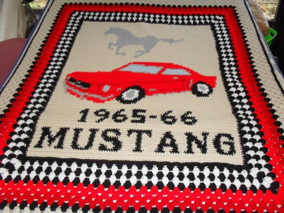 This Item Is Unavailable Etsy Crochet Afghan Mustang Crochet Car