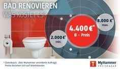 Awesome The best Bad renovieren kosten ideas on Pinterest Badezimmer grau wei K cherenovierung Kosten and Hausbau kosten