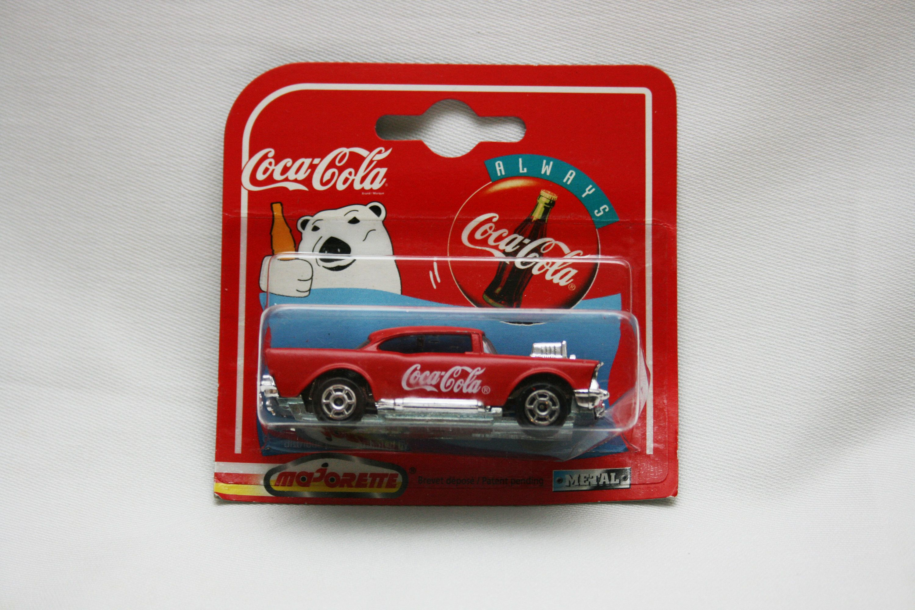 Chevy Radio 57 3 Way Switch With Pilot Light Wiring Diagram Vintage Coca Cola Grill 223 1 64 Scale Majorette 200 Series Die Cast Metal Coke Racing Car Hot Wheels Matchbox By Kattscuriocabinet On