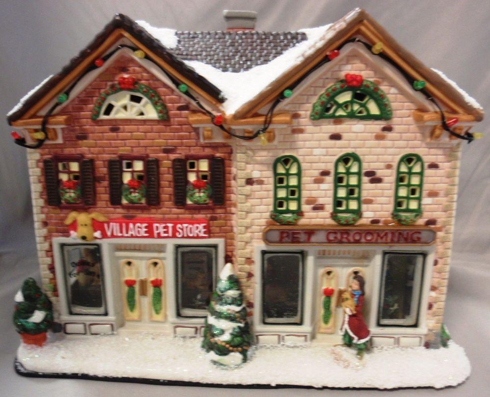 ST NICHOLAS SQUARE GROOMING PET SHOP STORE CHRISTMAS