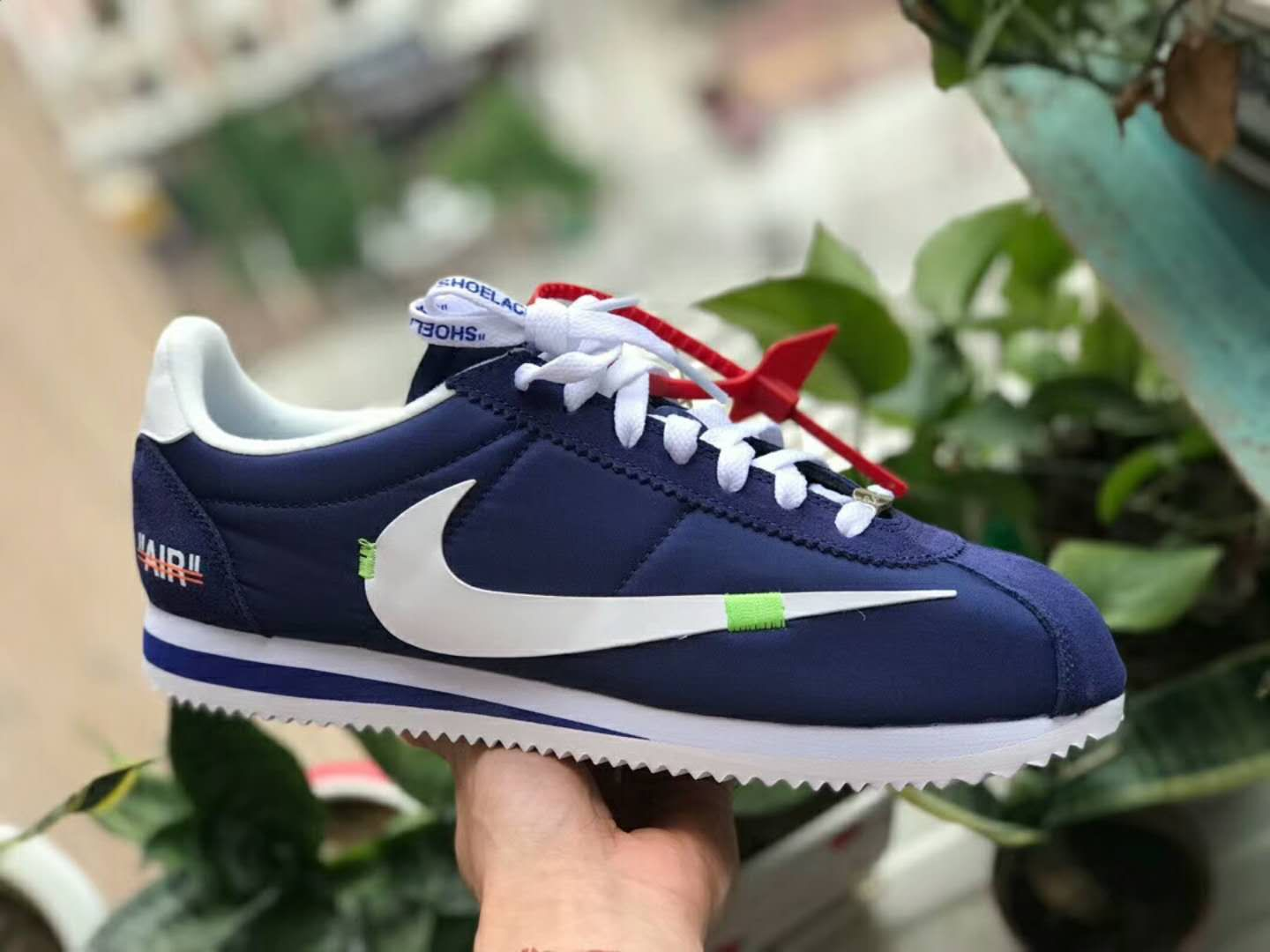 Virgil Abloh Off-White x Nike Cortez custom  00df883c4c