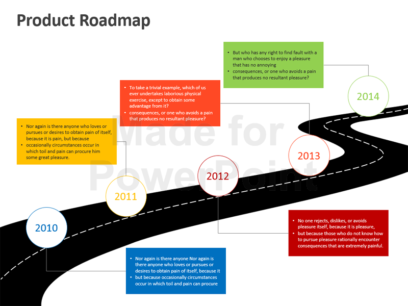 This 26 Slide Editable Product Roadmap Powerpoint Template Is An