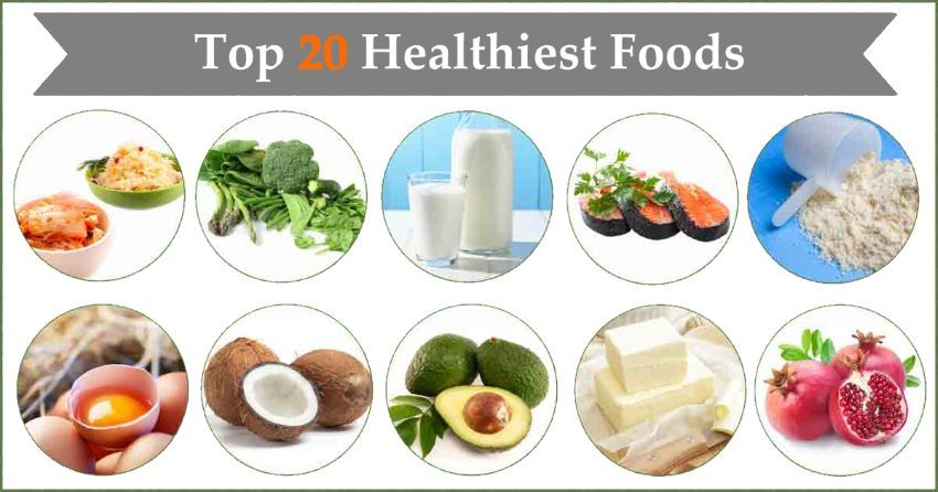 The Healthiest 20 Food Items You Can Find In Your Nearest