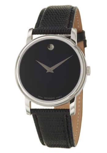 652bfd4eaf5  ebay Movado Museum Men s Quartz Watch 2100002 -  199 (save 60%)